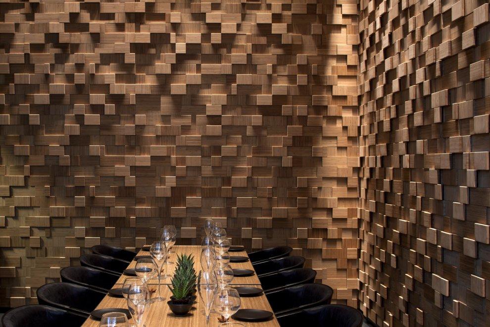 Mur Bois Deco Great Decoration Salon Mur En Pierre On D Interieur