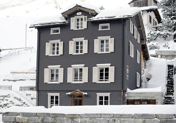 Chalet en suisse
