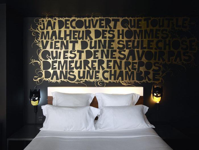 Chambre Mama Shelter Philippe Starck