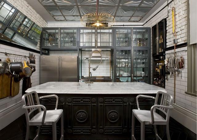 La cuisine, entre style classique et moderne