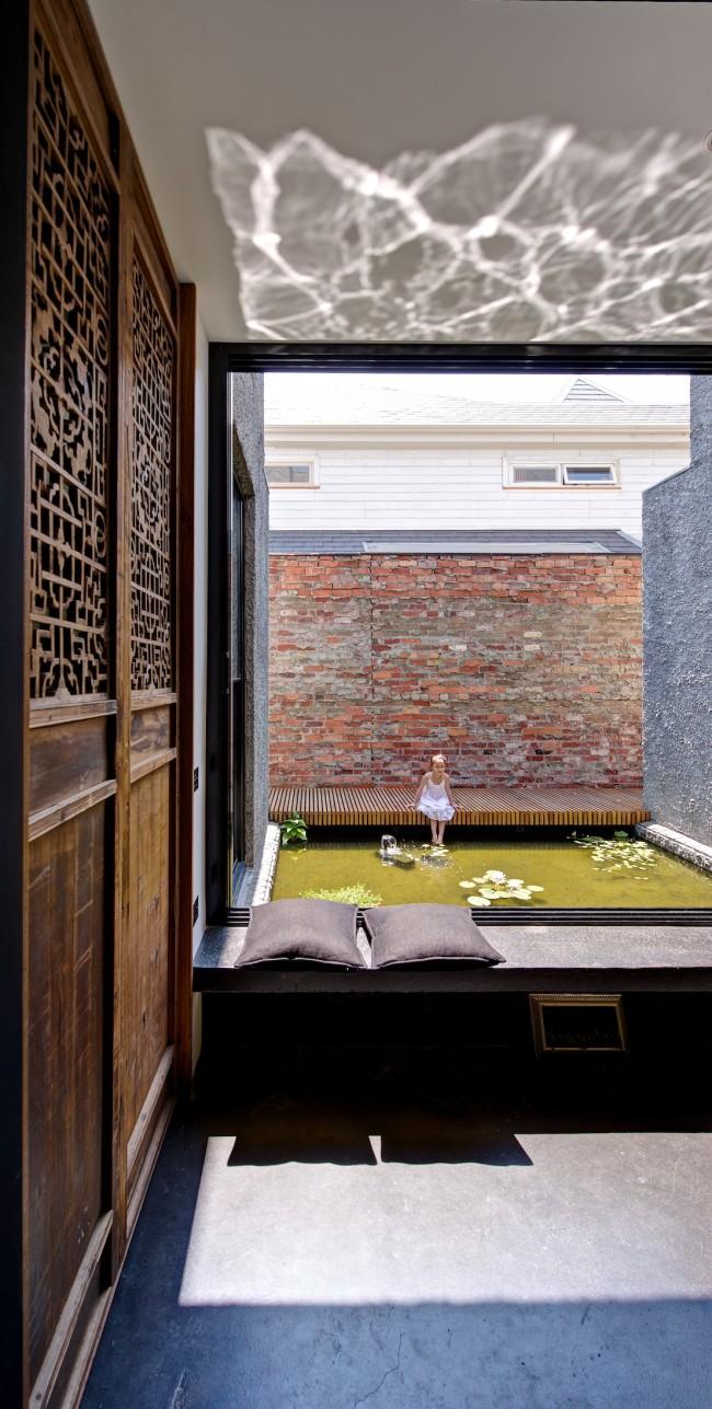 Maison contemporaine et matériaux naturels