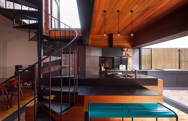 Bois pierre et modernit frenchy fancy for Interieur en bois
