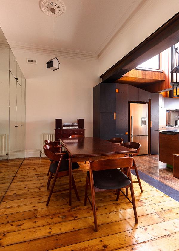 Salle à manger et mobilier épuré