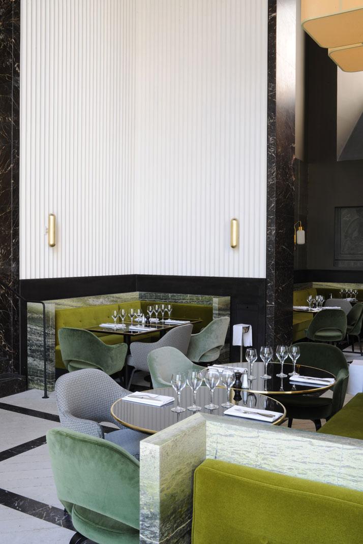 Restaurant Palais de Tokyo par Joseph Dirand