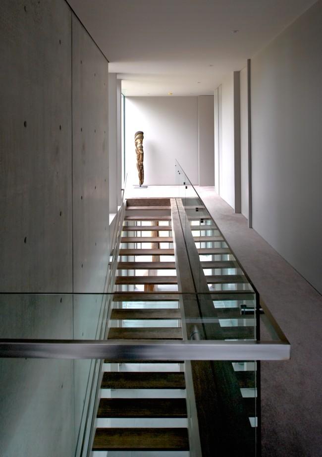 Une villa contemporaine tout en béton