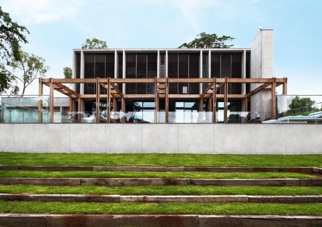Une villa contemporaine tout en béton - FrenchyFancy