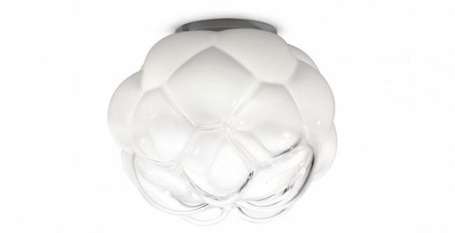 Plafonnier design en forme de nuage