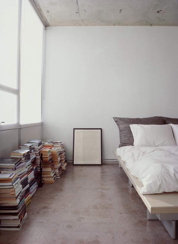Chambre en béton brut