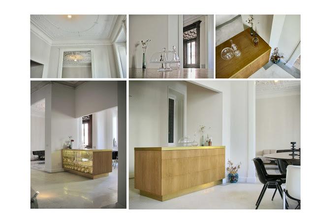 Elégance et modernisme pour cet intérieur réalisé par Pietro Russo