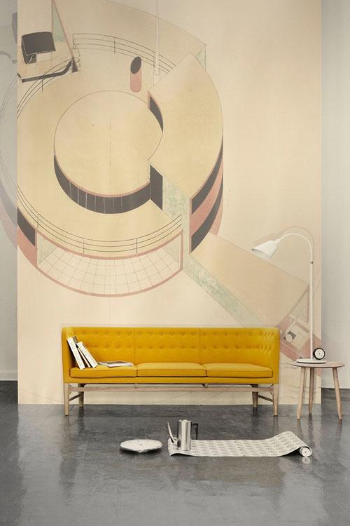 Canapé Mayor par Arne Jacobsen