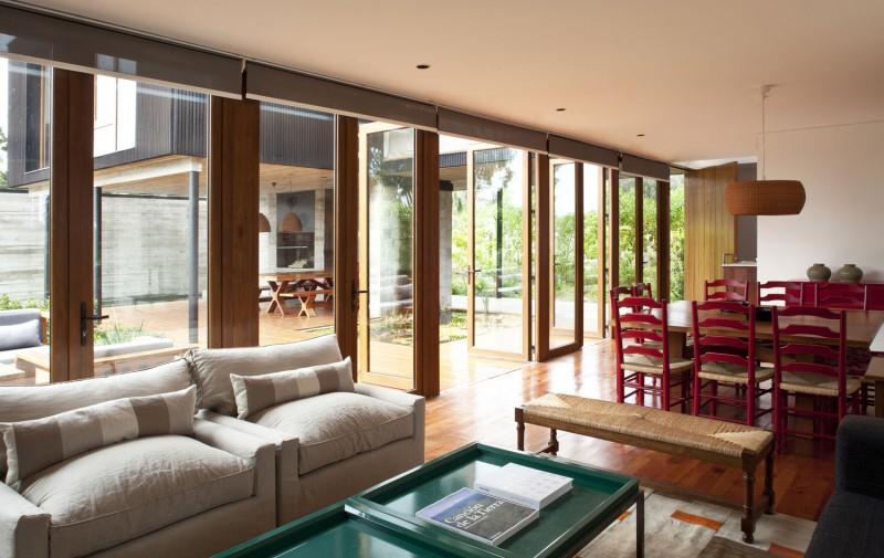 Maison avec patio