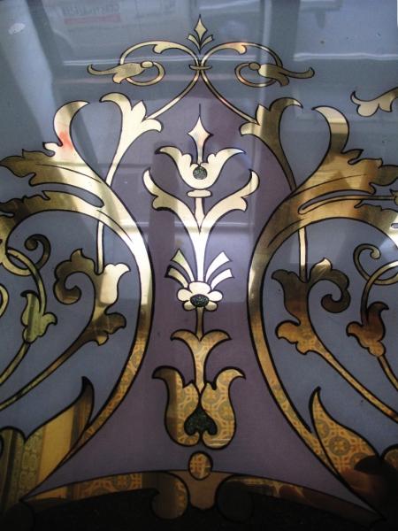 Plafonds en vitraux de couleurs