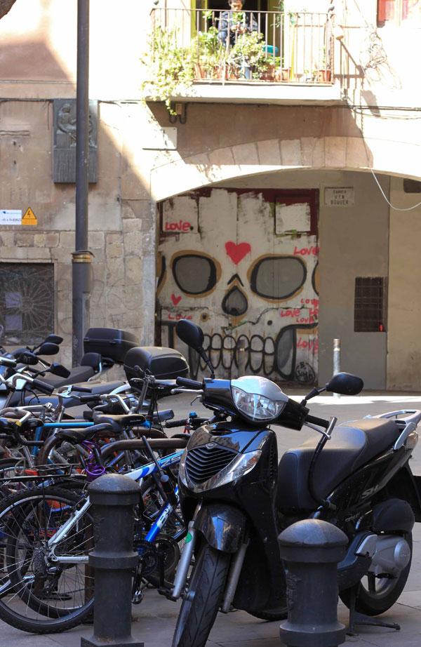 Un joli tag dans les rues de Barcelone