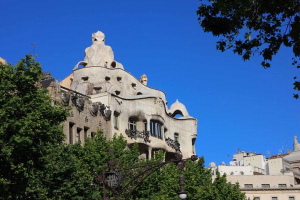 La Pedrera, un des monuments phares de Gaudí
