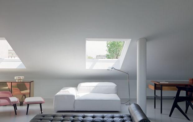 A Milan, un appartement réalisé par l'architecte Paolo Rizzo