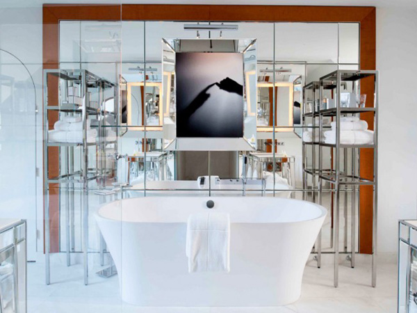 philippe starck revisite le royal monceau - frenchy fancy - Salle De Bain Starck