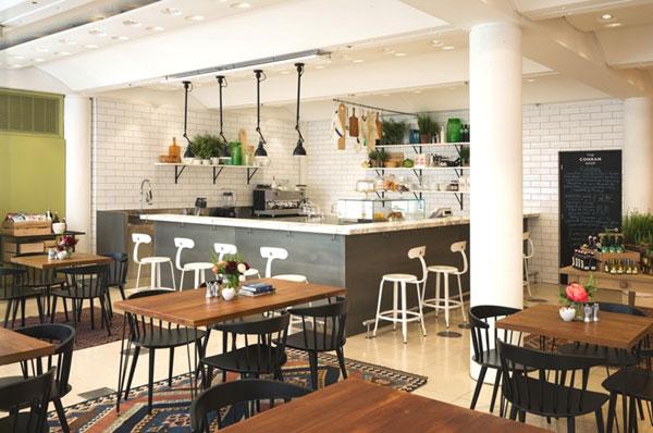 La nouvelle cafétériat de The Conran Shop à Londres