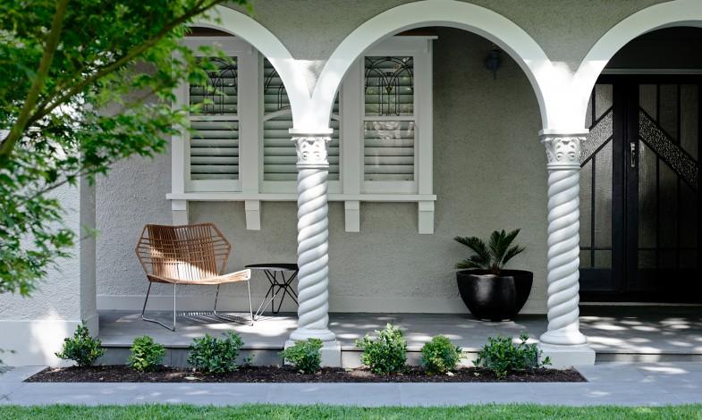 Une jolie terrasse aménagée par l'agence Mim Design