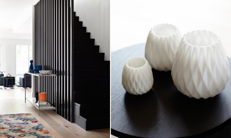 Escaliers graphique et décoration d'intérieur
