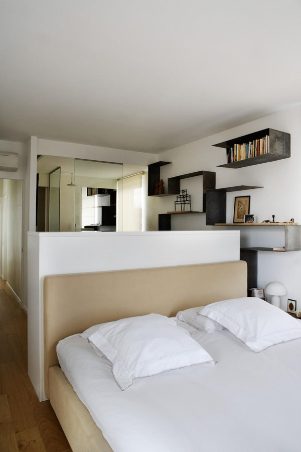 great chambre salle de bain ouverte volumes amp luminosit madrid frenchy fancy petite chambre avec salle with chambre avec salle de bain ouverte - Salle De Bain Ouverte Dans Chambre