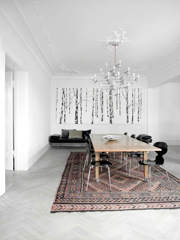 Beautiful candinavian apartment in copenhagen