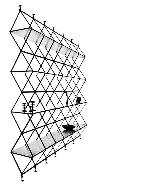Bibliothèque graphique design