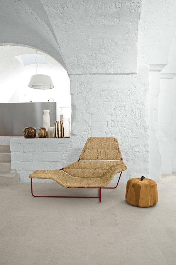 Chaise longue Lama par Ludovica et Roberto Palomba