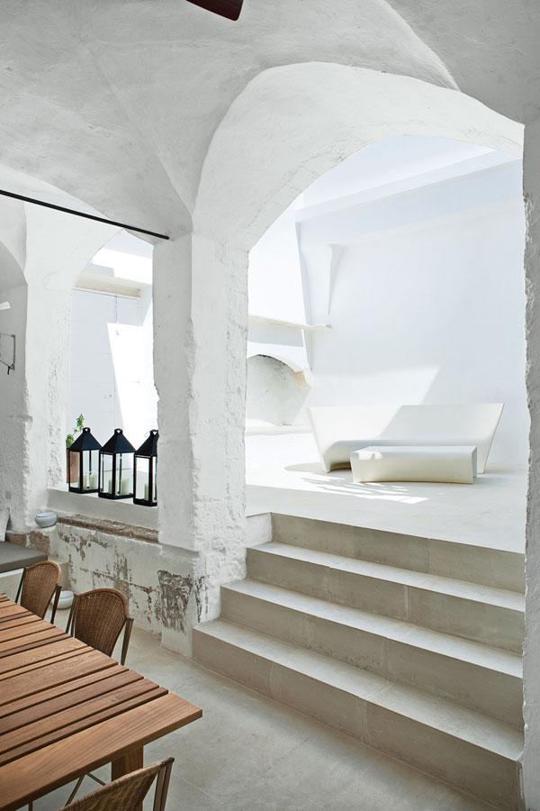 Sol et murs bruts