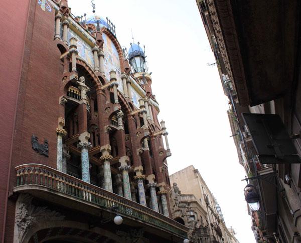 Palais de la Musique à Barcelone