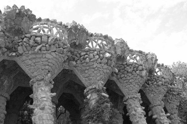 Le Parc Güell by Antoni Gaudí