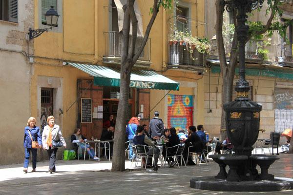 Les jolies rues de Barcelone