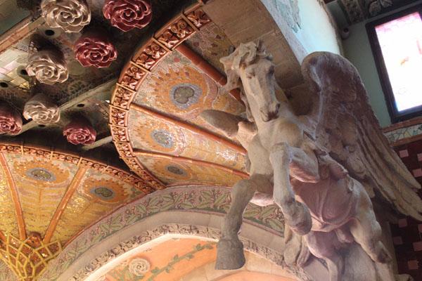 Le Palais de la Musique à Barcelone