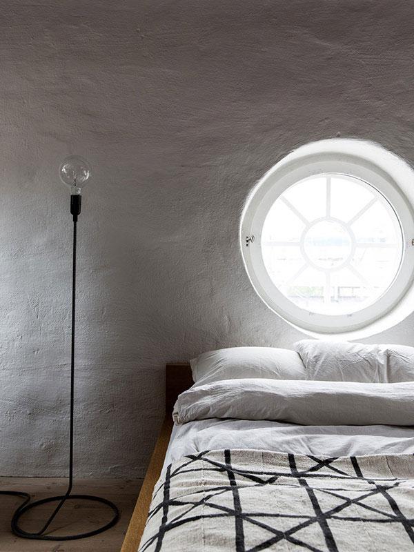 Chambre épurée et minimaliste