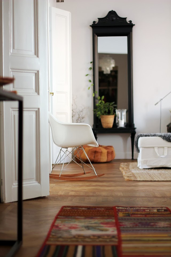Interior design with Eames chair