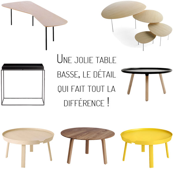 Tables basses design