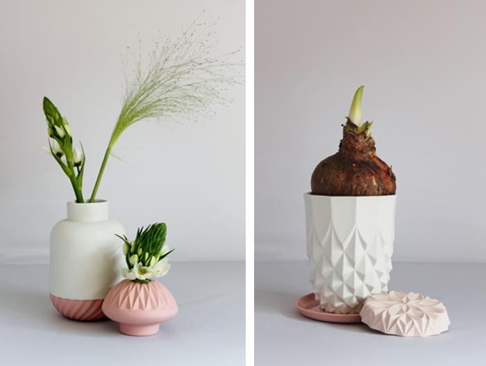 Des céramiques aux couleurs pastel