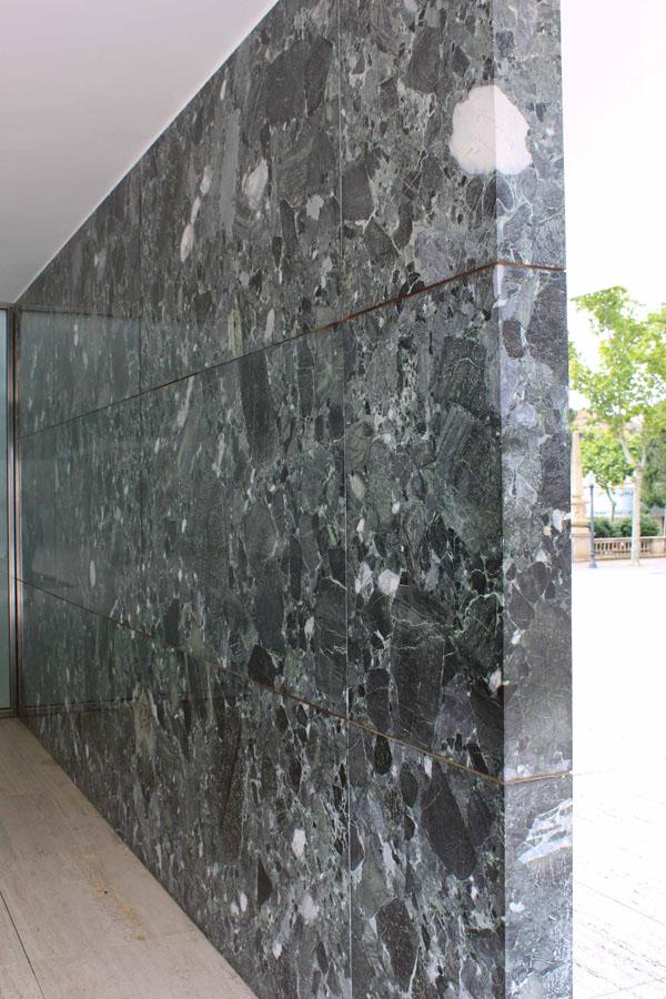 Pavillon de Mies Van der Rohe