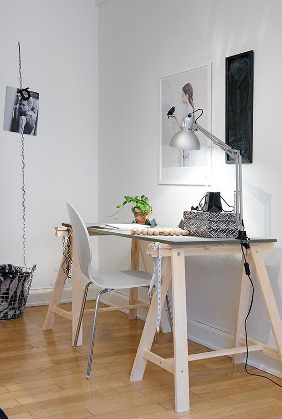 inspiration bien am nager son bureau frenchy fancy. Black Bedroom Furniture Sets. Home Design Ideas