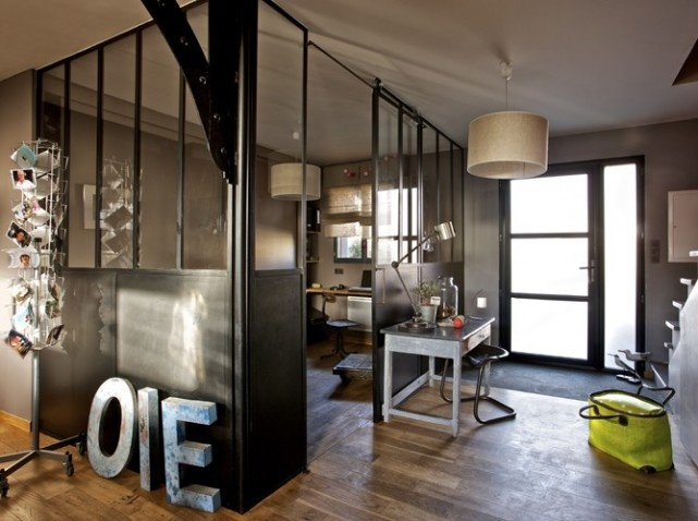 D co maison industrielle - Deco loft industriele ...