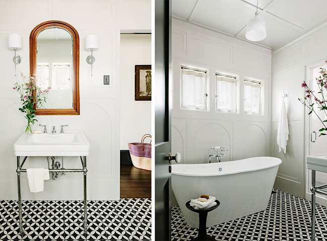 Emejing Salle De Bain Ancienne Moderne Gallery - House Design ...