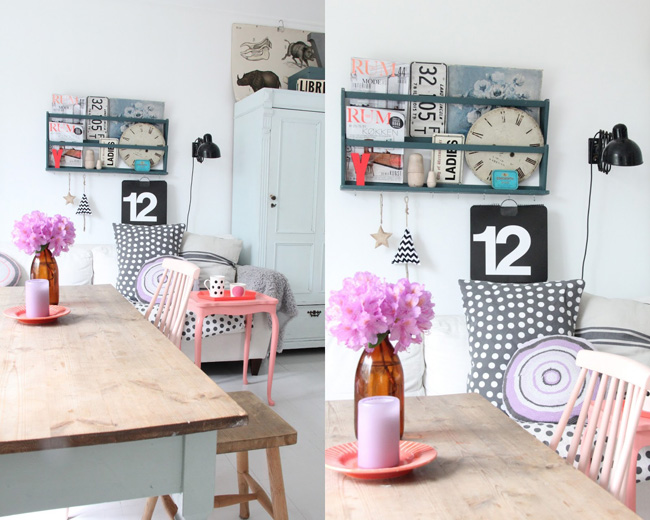 Une d co girly made in norv ge frenchy fancy for Deco chambre girly