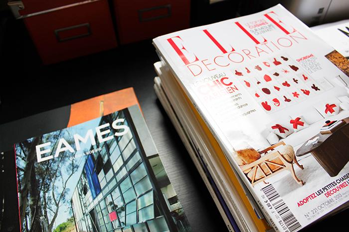 Livres et magazines de déco