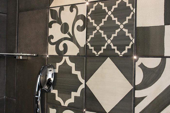 Le charme de l 39 h tel fabric frenchy fancy for Carreaux de ciment mural