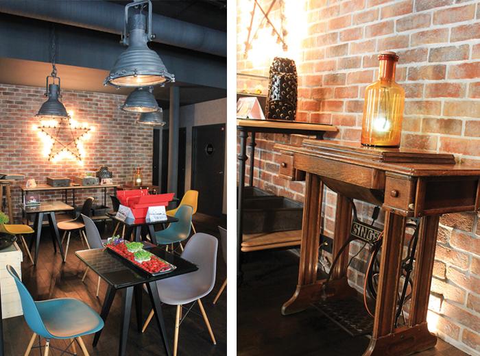 Fauteuils Eames et meubles chînés