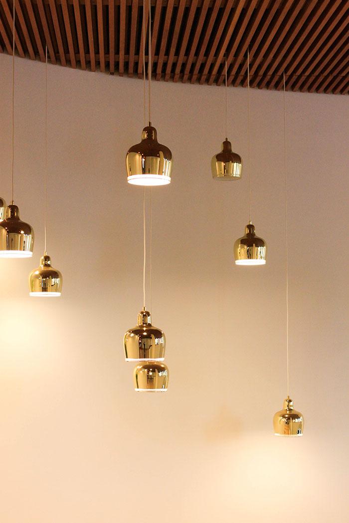 Luminaires design by Alvar Aalto