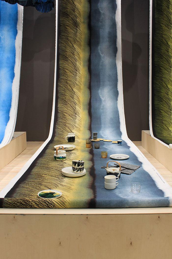 Interior design by Marimekko