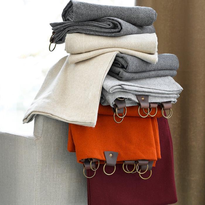 Rideaux en laine