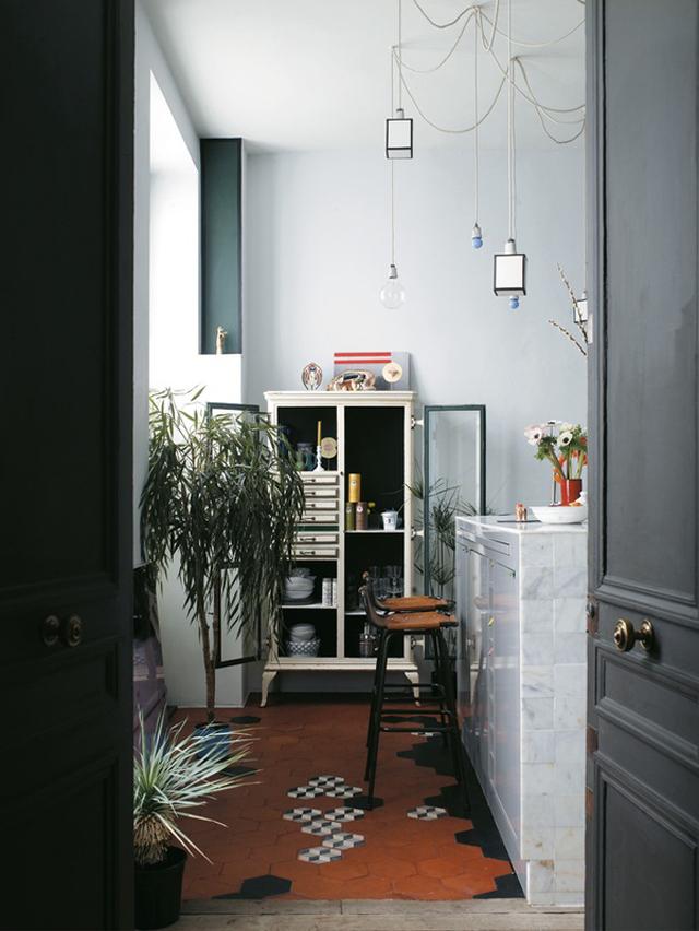 Mobilier de cuisine en marbre