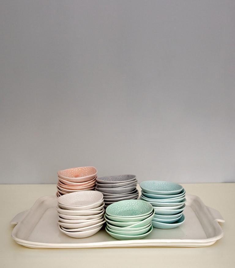 Vaisselle couleurs pastel