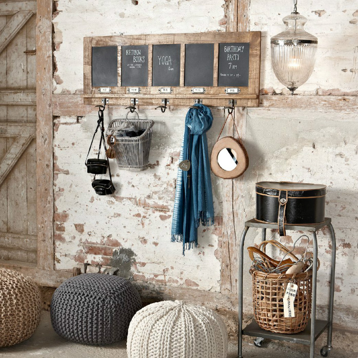 Tendance la d coration fa on rustique chic frenchy fancy for Interieur industriel chic